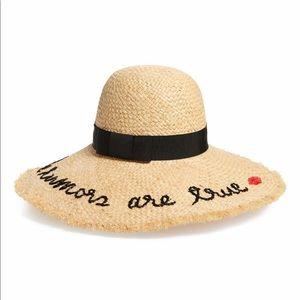 🔥🔥KATE SPADE the rumors are true Sun hat.